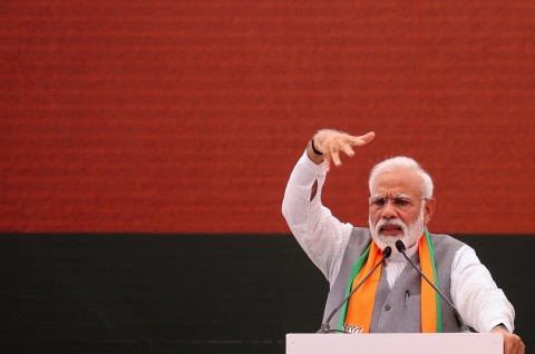 PM Modi Incar Kemenangan dalam Pemilu Terbesar di Dunia