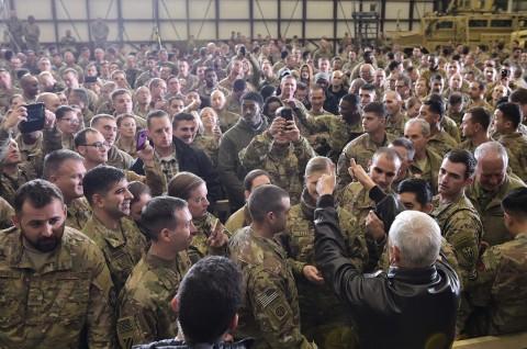 Ledakan di Afghanistan Tewaskan Tiga Prajurit AS