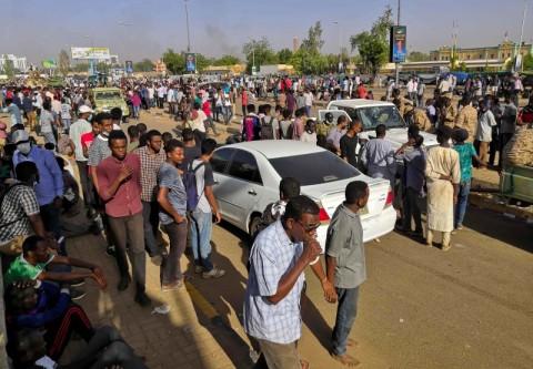 Ribuan Orang Ditangkap dalam Protes Antipemerintah Sudan