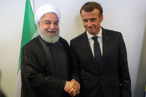 Macron Minta Iran Hindari Peningkatan Ketegangan dengan AS