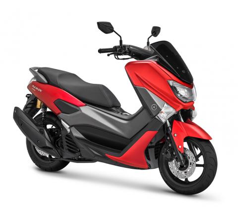 Warna Klasik Merah, 'Baju Baru' Yamaha Nmax
