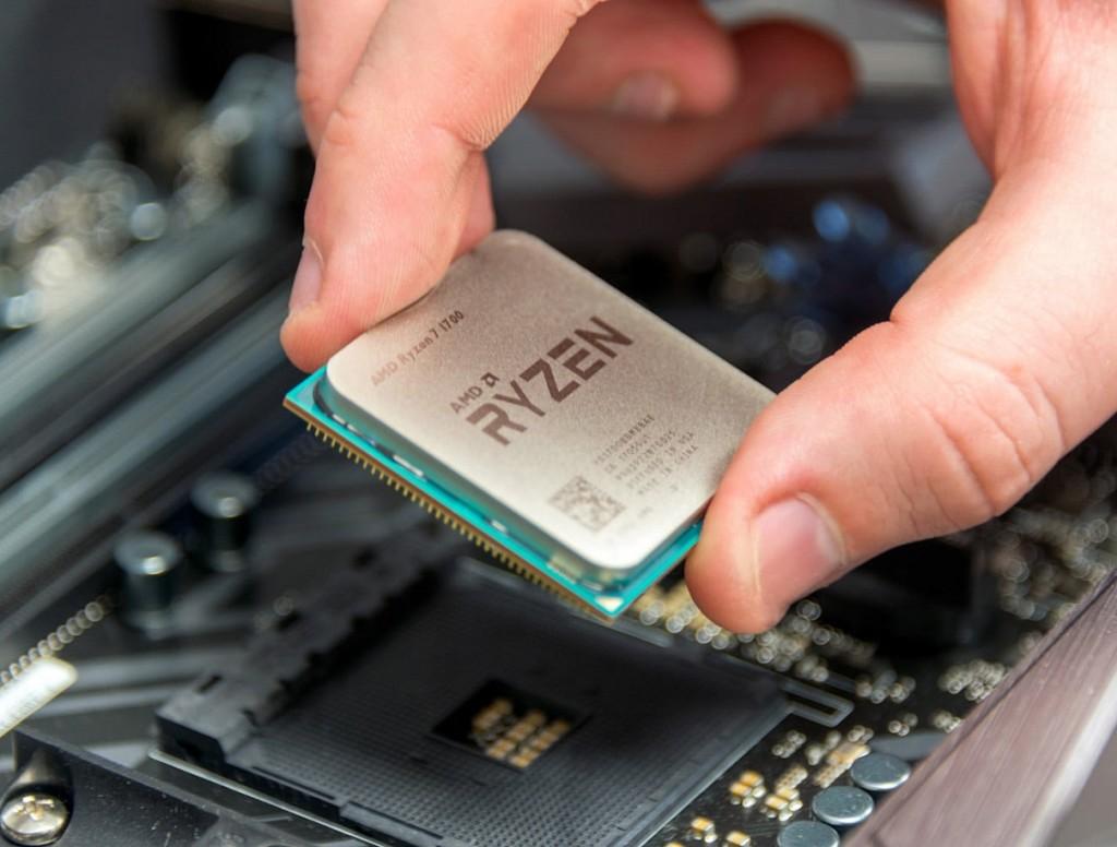 Prosesor AMD Ryzen.