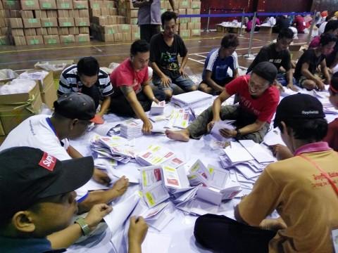 Tujuh Kabupaten di Sulsel Belum Laporkan Penyortiran Surat Suara