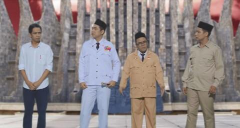 Rap Battle Parodi Prabowo vs Jokowi Karya SkinnyIndonesian24 Trending di Youtube