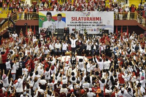 Jokowi Hadiri Silaturahmi dengan Masyarakat di Jakarta Timur