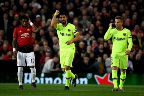 Babak 1: Gol Bunuh Diri Bawa Barcelona Unggul atas MU