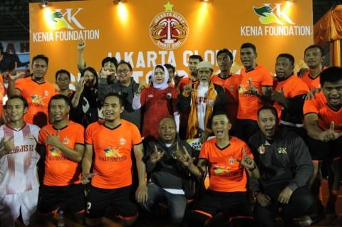 Nostalgia Skuat Juara Persija lewat Trofeo Jakarta Glory 2001