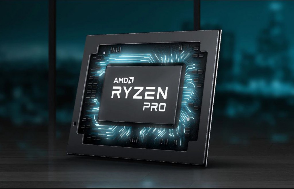 Prosesor AMD Ryzen Pro.