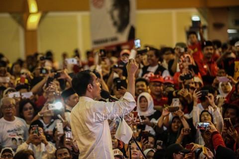Jokowi Targetkan Raih 55 Persen Suara di Depok