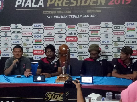 Jokowi Hadiri Final Piala Presiden di Malang