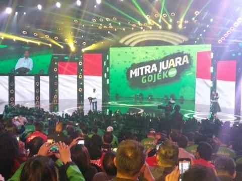 Jokowi Bangga GO-JEK Raih <i>Decacorn</i>
