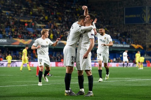Pecundangi Villarreal, Valencia Buka Kans ke Semifinal