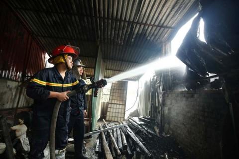 Kebakaran Bengkel di Hanoi, Lima Orang Tewas