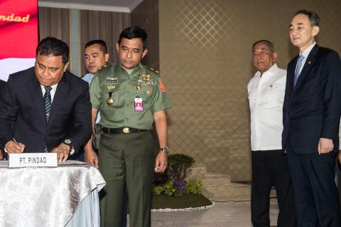 Kemhan Tandatangani Kontrak Alutsista Rp2,1 T dan USD1,4 Miliar