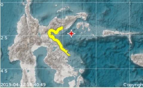 Gempa 6,9 SR Guncang Sulteng, Berpotensi Tsunami