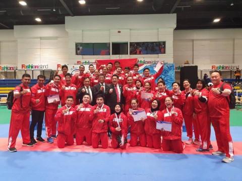 Indonesia Rebut 5 Emas pada Hari Pertama Kejuaraan SEAKF 2019