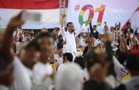 Gelora Jokowi dari Stadion GBK Jakarta