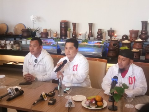 Erick Berharap Kampanye Akbar Jokowi-Ma'ruf Jadi yang Terbesar