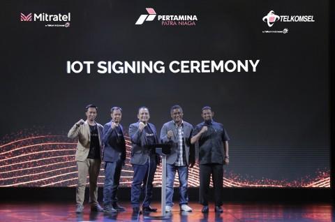 Telkomsel Luncurkan Sistem IoT Pemantau Bahan Bakar