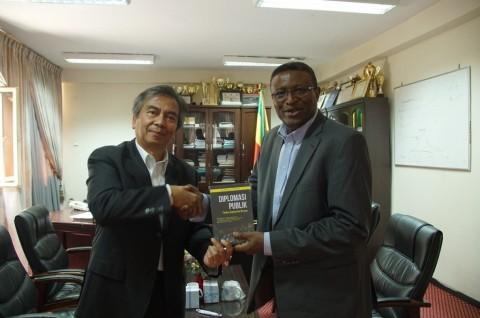 Universitas Hawassa Ethiopia Tingkatkan Kerja Sama dengan RI
