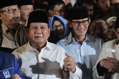 Debat Pilpres, Prabowo-Sandi Fokus ke Peningkatan Investasi