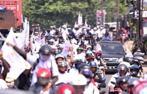 Ribuan Buruh Berpartisipasi Putihkan GBK