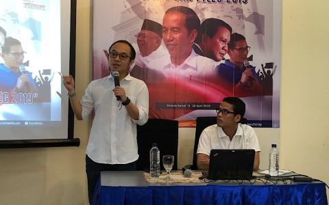 Survei: Elektabilitas Jokowi Sulit Dikejar