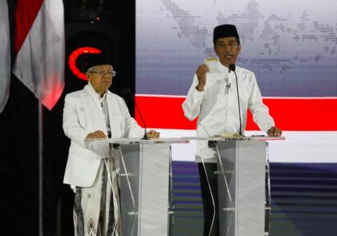 Jokowi-Ma'ruf Siap Wujudkan Ekonomi dan Kesejahteraan Rakyat