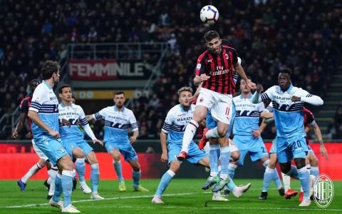 Tundukkan Lazio, AC Milan Akhiri Rentetan Hasil Buruk