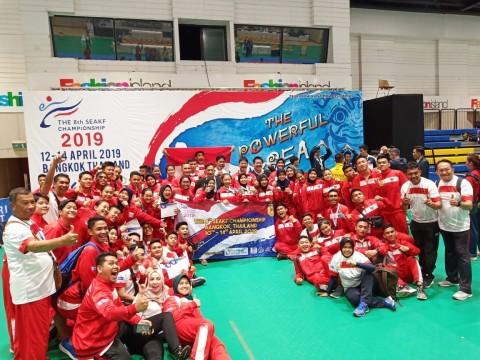 Hari kedua SEAKF Bangkok, Timnas Karate Koleksi 8 Emas