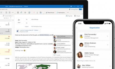 Sistem Dibobol, Microsoft Sarankan Pengguna Outlook Ganti Password