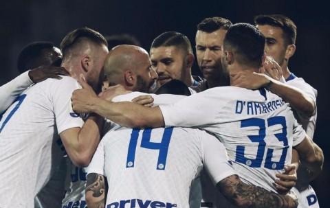 Hantam Frosinone, Inter Kembali ke Jalur Kemenangan
