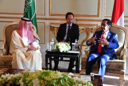 Presiden Jajaki Kerja Sama Energi dengan Arab Saudi