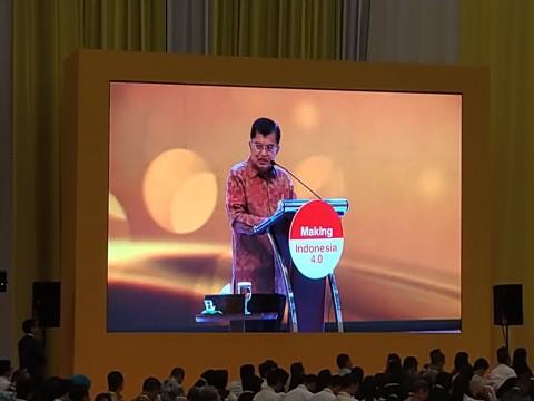 Wapres JK Buka Indonesia Industrial Summit 2019