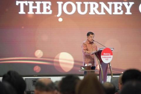 Jusuf Kalla: Tidak Benar Terjadi Deindustrialisasi