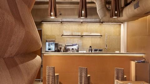 Ramah Lingkungan, Interior Kafe Dibuat dari Kardus