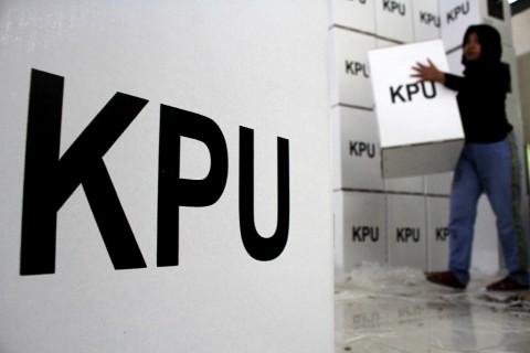 63 Tahanan Korupsi <i>Nyoblos</i> di Rutan KPK