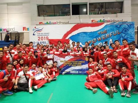 Timnas Karate Indonesia Raih 8 Emas di SEAKF Bangkok