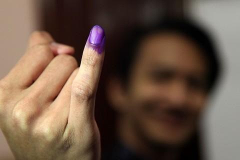 Pemilih Dilarang Rekam Aktivitas Mencoblos