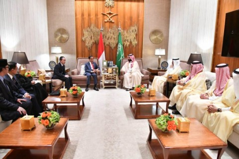 Putra Mahkota Saudi Puji Pertumbuhan Ekonomi RI