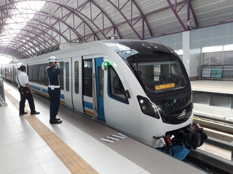 Palembang LRT is Work in Progress: Minister