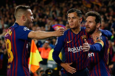 Barcelona Lumat Manchester United 3-0