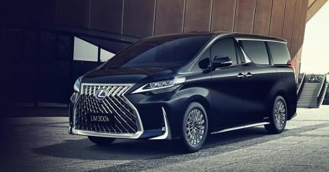 Lexus LM Jadi Kembaran Toyota Alphard Versi Lebih Mewah