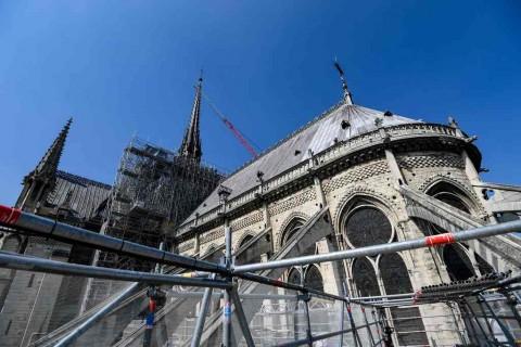 CEO Apple Bantu Renovasi Katedral Notre Dame