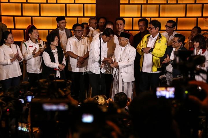 Jokowi-Ma'ruf Tetap Tunggu Hasil Resmi KPU