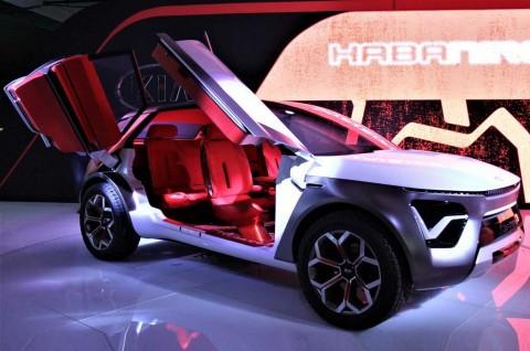 Kia HabaNiro Concept jadi Magnet di New York Auto Show