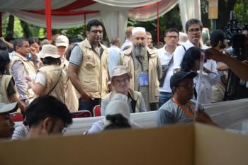 DPR Dampingi Delegasi Asing Pantau Pelaksanaan Pemilu 2019