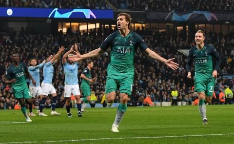 Tottenham Hotspur ke Semifinal meski Kalah dari Manchester City