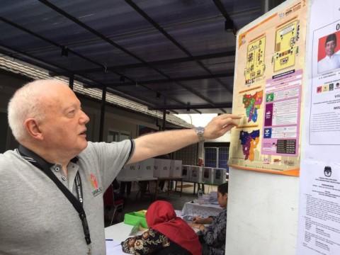 Para Dubes Asing Pantau Pemilu di Jakarta