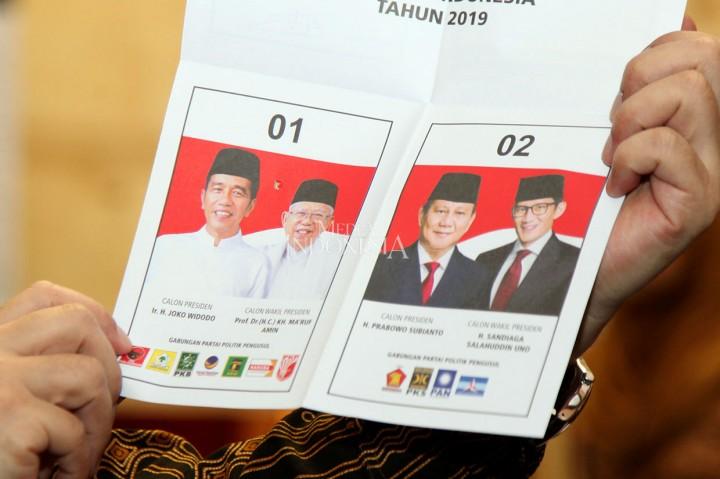 Pemilu di Rusia, Jokowi Ungguli Prabowo